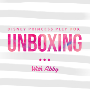Disney Princess Mystery Box Unboxing